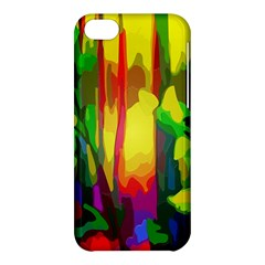Abstract Vibrant Colour Botany Apple Iphone 5c Hardshell Case