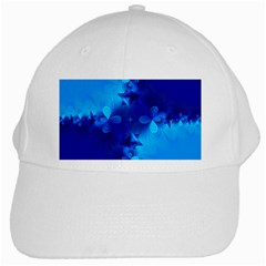 Background Course Gradient Blue White Cap by Sapixe