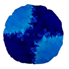 Background Course Gradient Blue Large 18  Premium Round Cushions