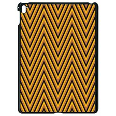Chevron Brown Retro Vintage Apple Ipad Pro 9 7   Black Seamless Case by Sapixe