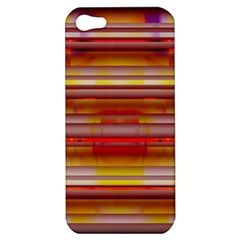 Abstract Stripes Color Game Apple Iphone 5 Hardshell Case