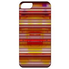 Abstract Stripes Color Game Apple Iphone 5 Classic Hardshell Case
