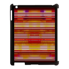 Abstract Stripes Color Game Apple Ipad 3/4 Case (black) by Sapixe