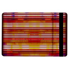 Abstract Stripes Color Game Ipad Air 2 Flip by Sapixe