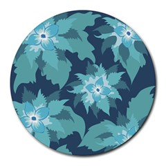 Graphic Design Wallpaper Abstract Round Mousepads by Sapixe