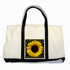 Flowers Hearts Heart Two Tone Tote Bag
