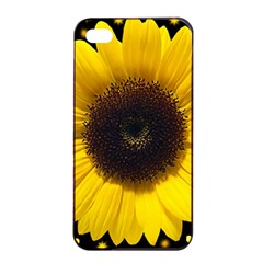 Flowers Hearts Heart Apple Iphone 4/4s Seamless Case (black) by Sapixe