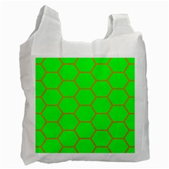 Bee Hive Texture Recycle Bag (two Side) by Jojostore