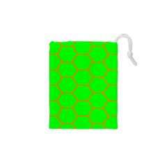 Bee Hive Texture Drawstring Pouch (xs)