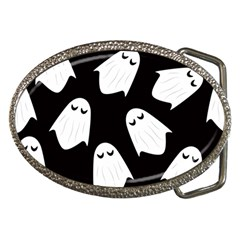 Ghost Halloween Pattern Belt Buckles