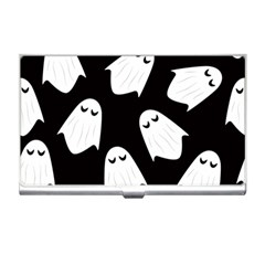 Ghost Halloween Pattern Business Card Holder