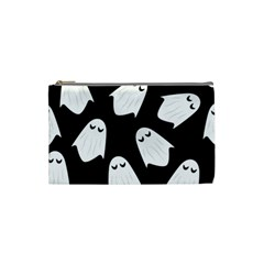 Ghost Halloween Pattern Cosmetic Bag (small)
