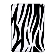 Seamless Zebra A Completely Zebra Skin Background Pattern Apple Ipad Mini Hardshell Case (compatible With Smart Cover) by Jojostore