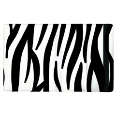 Seamless Zebra A Completely Zebra Skin Background Pattern Ipad Mini 4