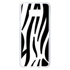 Seamless Zebra A Completely Zebra Skin Background Pattern Samsung Galaxy S8 Plus White Seamless Case