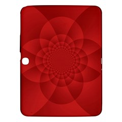 Psychedelic Art Red  Hi Tech Samsung Galaxy Tab 3 (10 1 ) P5200 Hardshell Case  by Jojostore