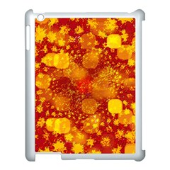 Christmas Star Advent Background Apple Ipad 3/4 Case (white) by Sapixe