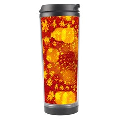 Christmas Star Advent Background Travel Tumbler by Sapixe