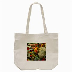 Flower Color Nature Plant Crafts Tote Bag (cream)