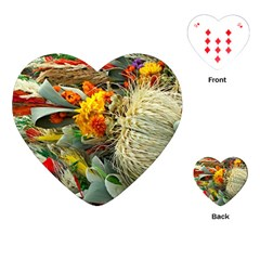Flower Color Nature Plant Crafts Playing Cards (heart) by Sapixe