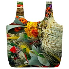 Flower Color Nature Plant Crafts Full Print Recycle Bag (xl)
