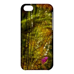 Dragonfly Dragonfly Wing Close Up Apple Iphone 5c Hardshell Case by Sapixe
