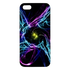 Abstract Art Color Design Lines Iphone 5s/ Se Premium Hardshell Case by Sapixe