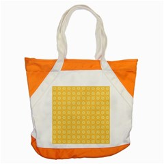 Pattern Background Texture Yellow Accent Tote Bag