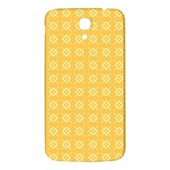 Pattern Background Texture Yellow Samsung Galaxy Mega I9200 Hardshell Back Case by Sapixe