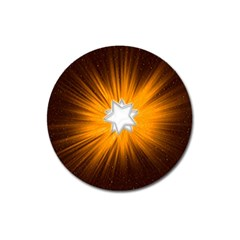 Star Universe Space Galaxy Cosmos Magnet 3  (round)