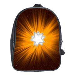Star Universe Space Galaxy Cosmos School Bag (large) by Sapixe