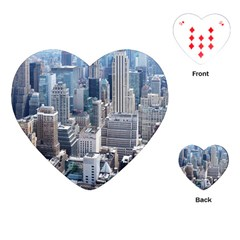 Manhattan New York City Playing Cards (heart) by Sapixe