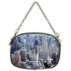 Manhattan New York City Chain Purse (two Sides) by Sapixe