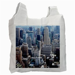 Manhattan New York City Recycle Bag (two Side)
