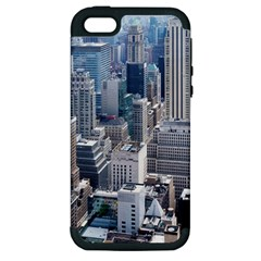 Manhattan New York City Apple Iphone 5 Hardshell Case (pc+silicone)