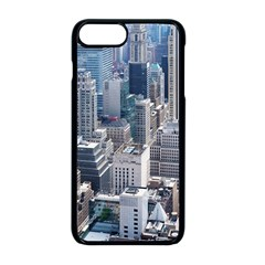 Manhattan New York City Apple Iphone 8 Plus Seamless Case (black)