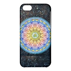 Mandala Cosmos Spirit Apple Iphone 5c Hardshell Case by Sapixe