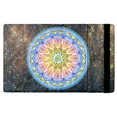 Mandala Cosmos Spirit Apple Ipad Pro 12 9   Flip Case