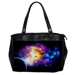 Colors Of The Planets Oversize Office Handbag