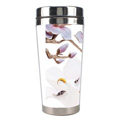 Fishes And Flowers Stainless Steel Travel Tumblers