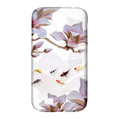 Fishes And Flowers Samsung Galaxy S4 Classic Hardshell Case (pc+silicone)