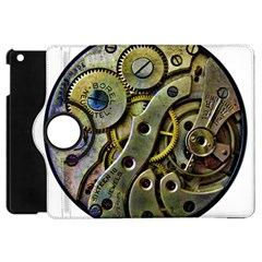 Clock Steampunk Gear  Apple Ipad Mini Flip 360 Case