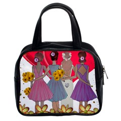 Girl Power Classic Handbag (two Sides)