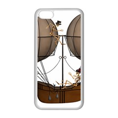 Steampunk Flyer Apple Iphone 5c Seamless Case (white)