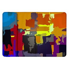 Abstract Vibrant Colour Samsung Galaxy Tab 8 9  P7300 Flip Case by Sapixe