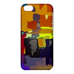 Abstract Vibrant Colour Apple Iphone 5c Hardshell Case by Sapixe