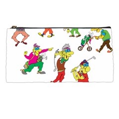 Golfers Athletes The Form Of Pencil Cases by Sapixe