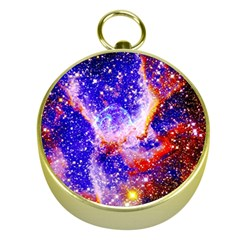 Galaxy Nebula Stars Space Universe Gold Compasses