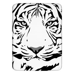 Tiger Black Ans White Samsung Galaxy Tab 3 (10 1 ) P5200 Hardshell Case  by alllovelyideas