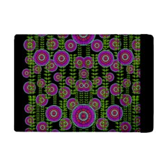 Black Lotus Night In Climbing Beautiful Leaves Ipad Mini 2 Flip Cases by pepitasart